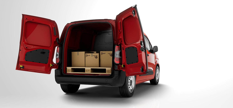 Citroën Berlingo laadruimte