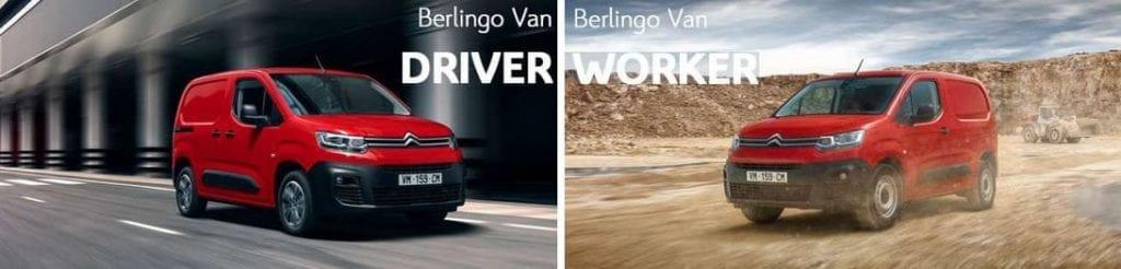Citroën Berlingo Van Worker en Driver