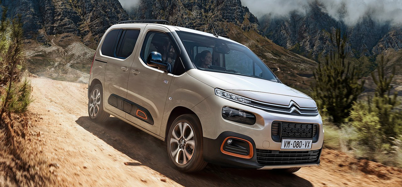 Citroën Berlingo voorkant