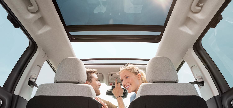Citroën C3 Aircross panoramadak