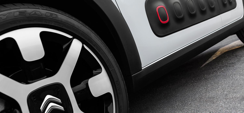 Nieuwe Citroën C3 velgen