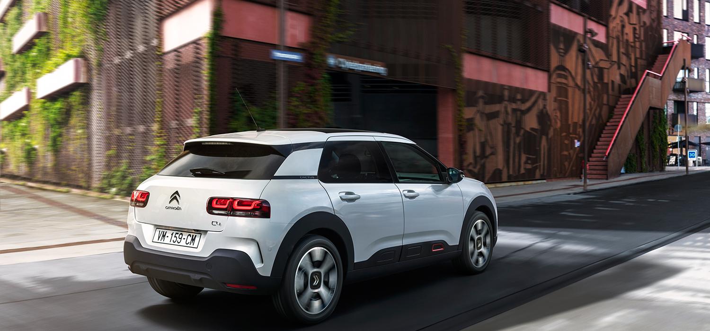 Citroën C4 Cactus achterkant