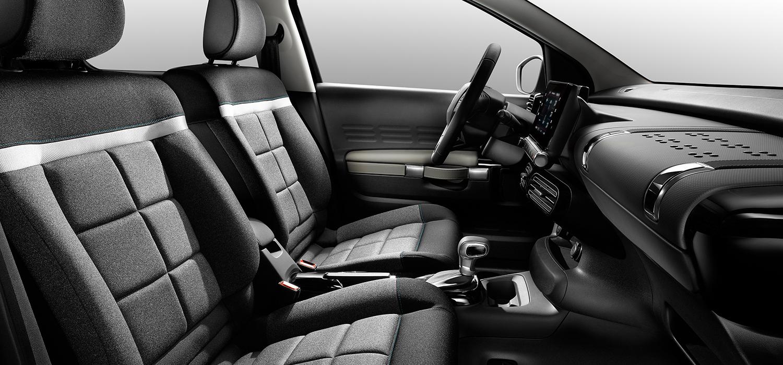 Citroën C4 Cactus binnekant
