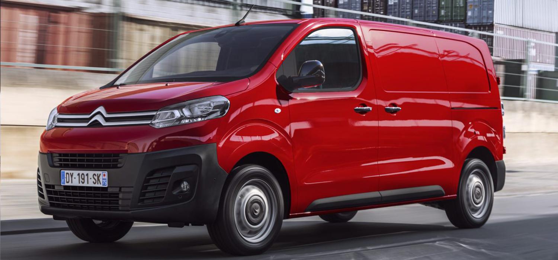 Citroën Jumpy zijkant bedrijfswagen