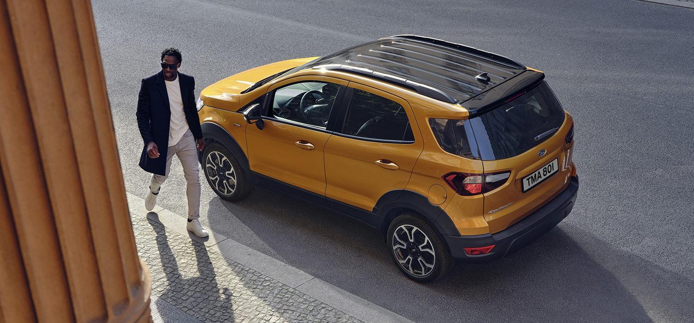 Ford EcoSport Active Achterzijde