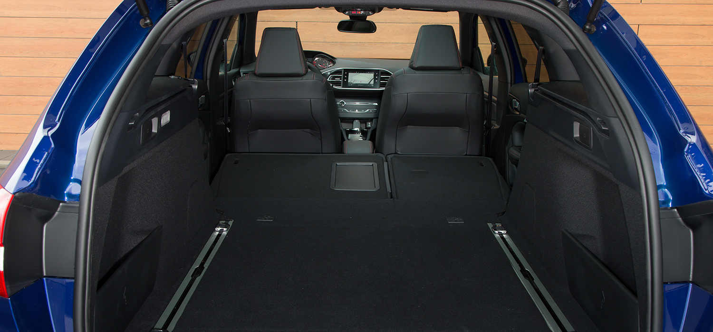 Peugeot 308 SW kofferbak ruimte