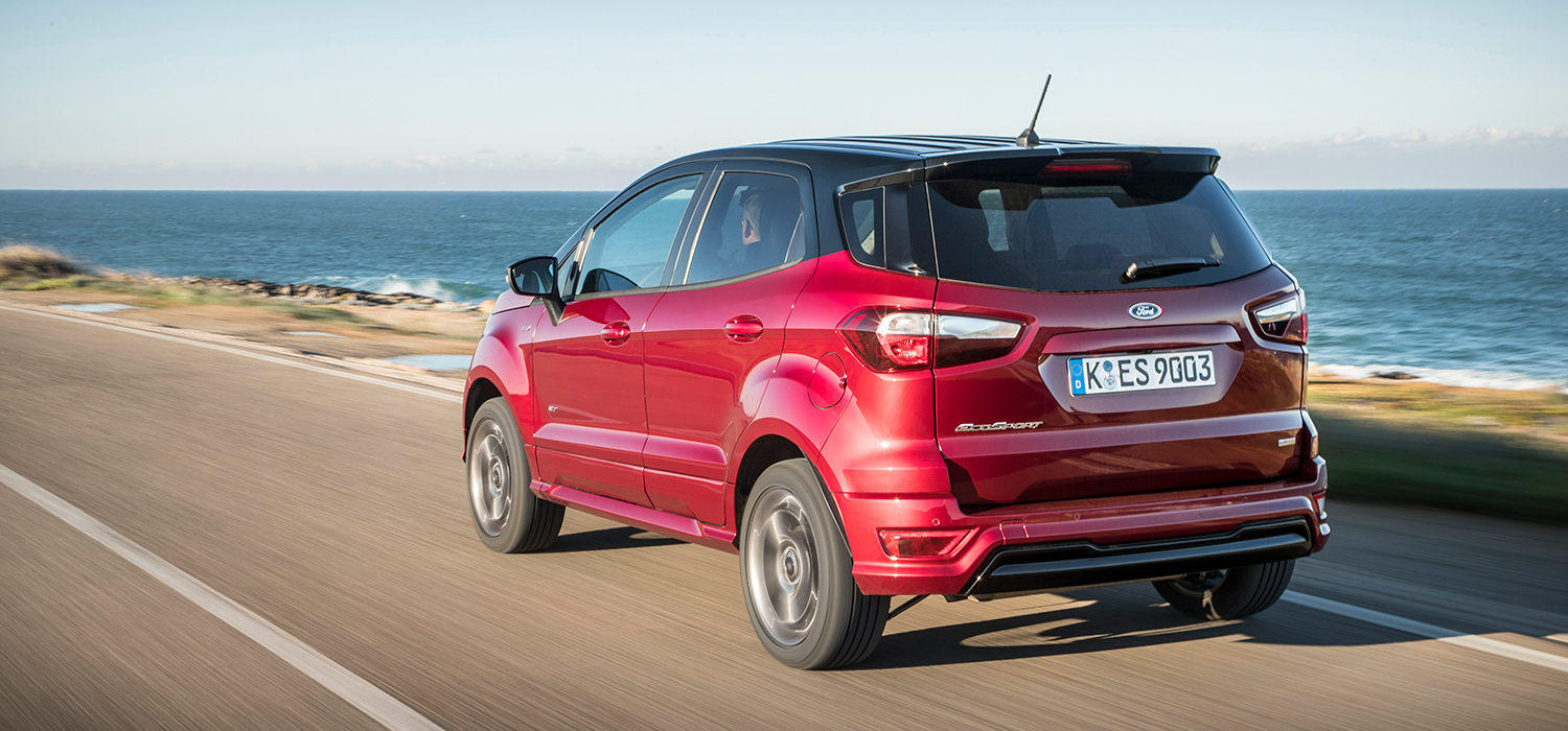 Ford EcoSport linksachter automaat