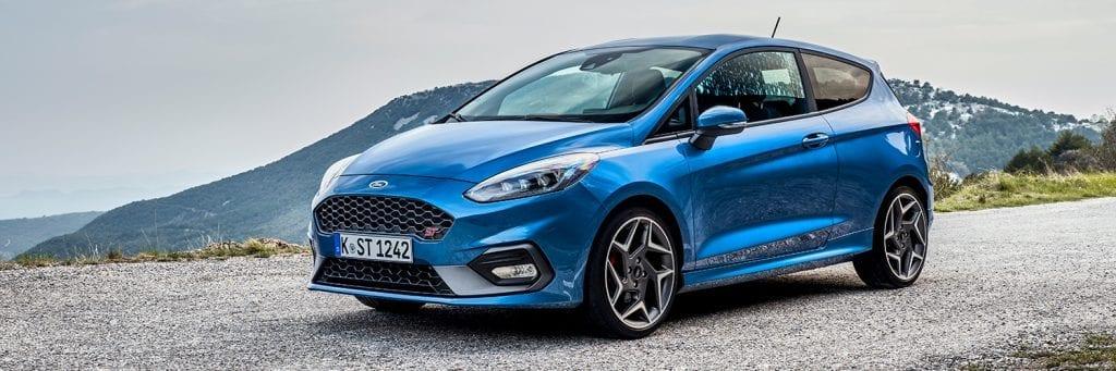 Ford Fiesta ST-Line linksvoor
