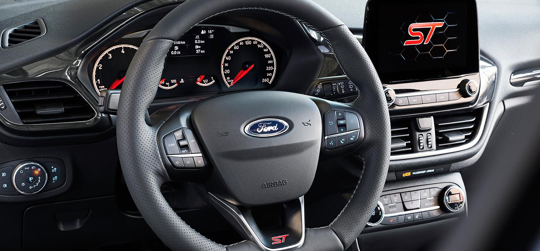 Ford Fiësta ST-Line stuur
