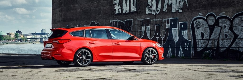 Ford Focus Wagon ST rechtsachter
