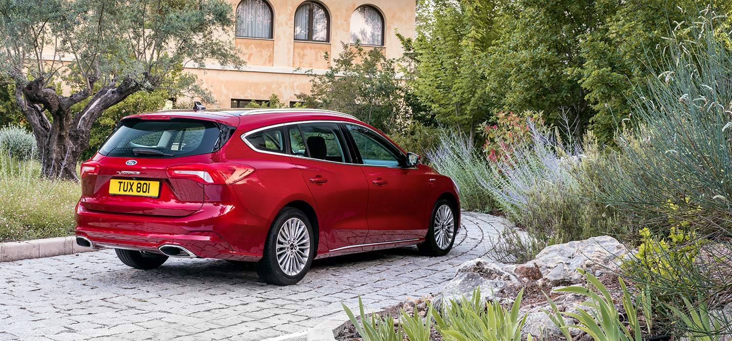 Ford Focus Wagon Vignale rechtsachter