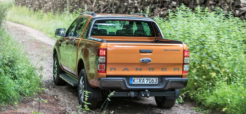 Ford Ranger linksachter