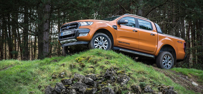 Ford Ranger linksvoor