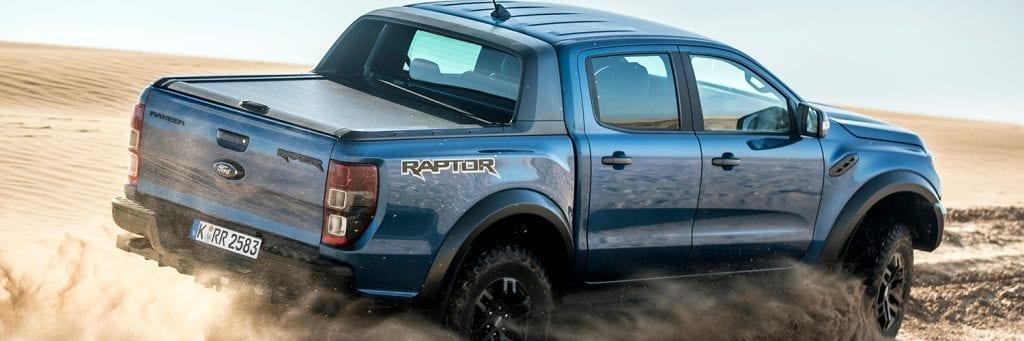 Ford Ranger woestijn