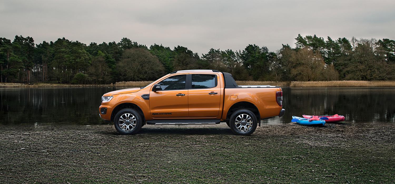 Ford Ranger zijkant