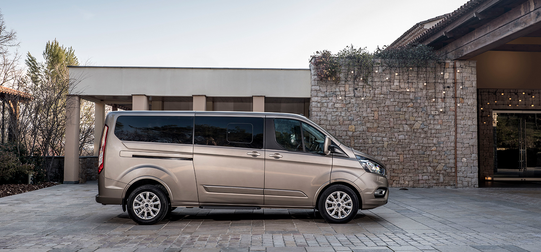 Ford Tourneo Custom dubbele cabine