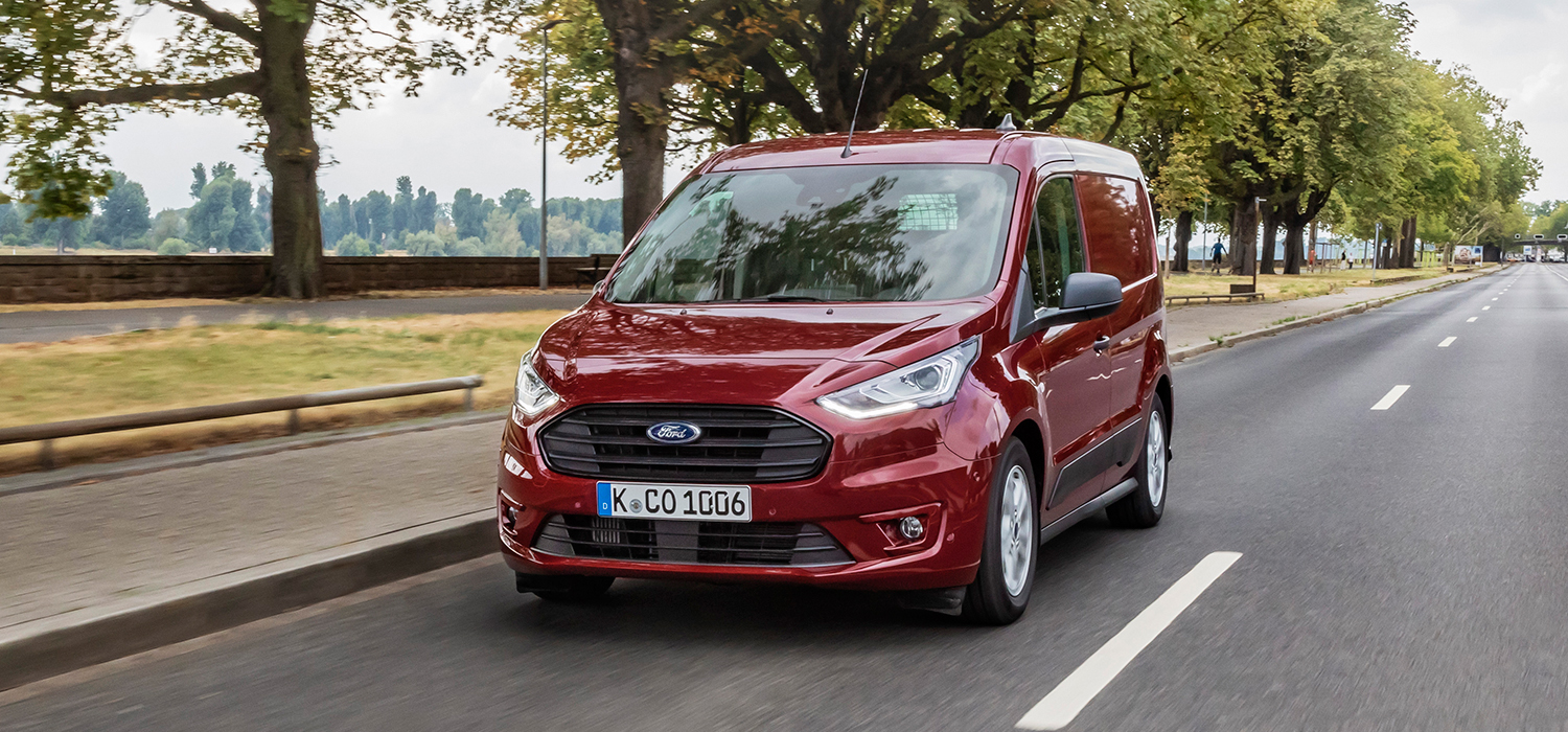 Ford Transit Connect linksvoor