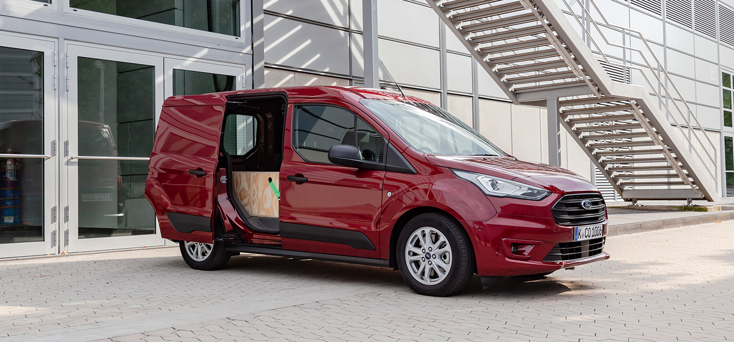 Ford Transit Connect rechtsvoor