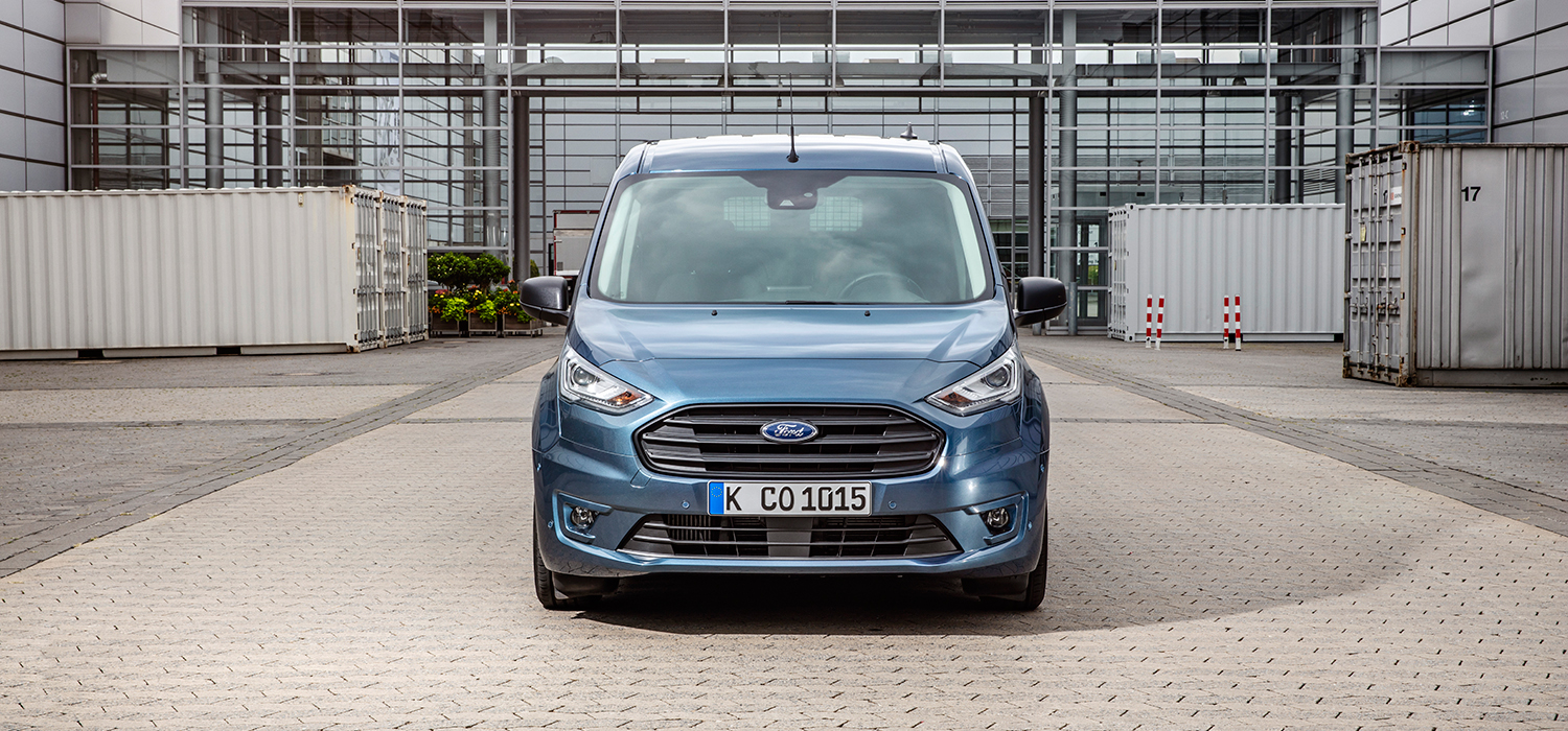 Ford Transit Connect voorzijde