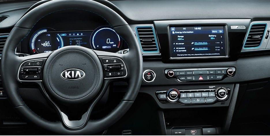 Kia E-Niro EV dashboard