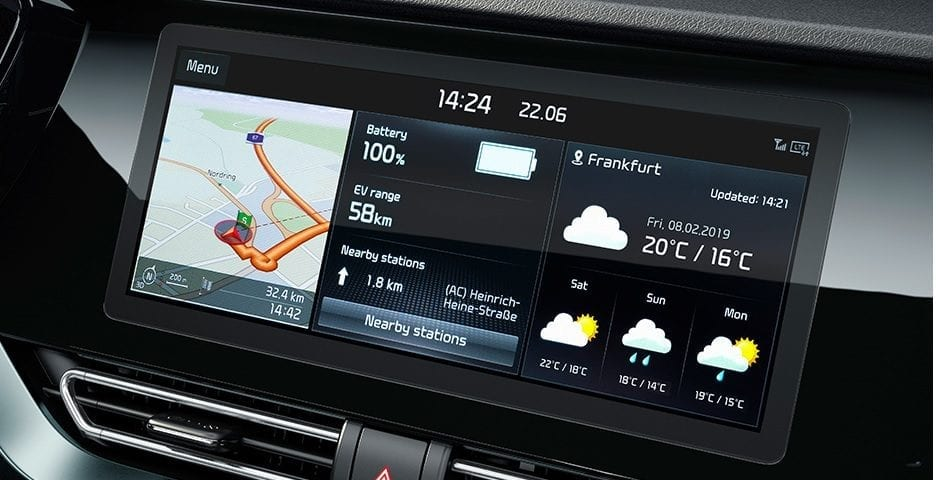 Kia Niro Plug-in Hybrid dashboard