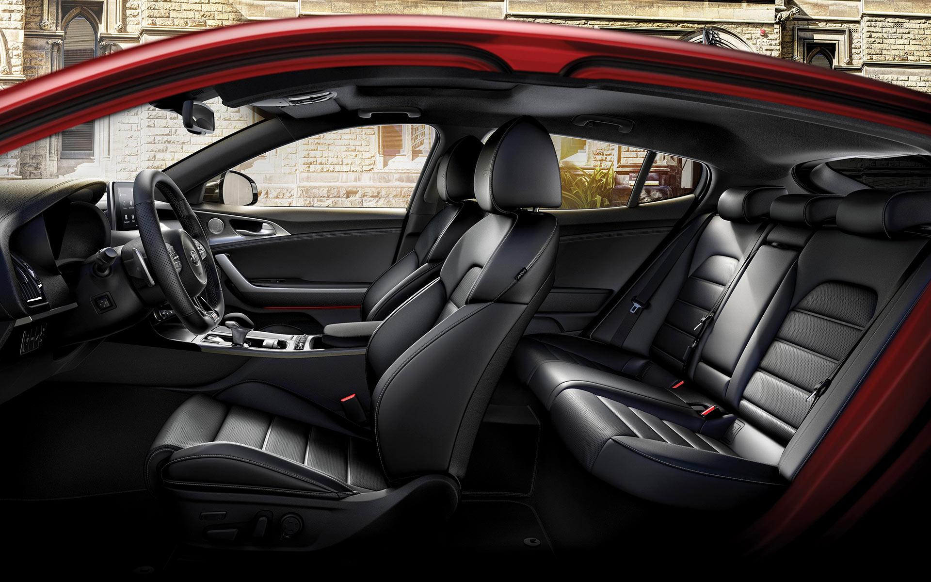 Kia Stinger GT interieur