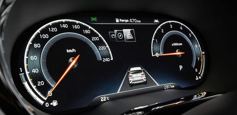 Kia XCeed dashboard