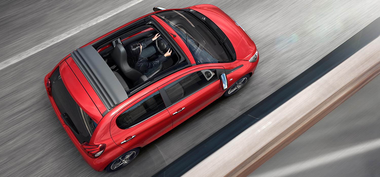 Peugeot opendak