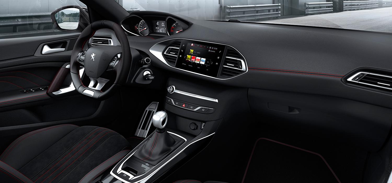 Peugeot 308 en 308 SW hatchback interieur