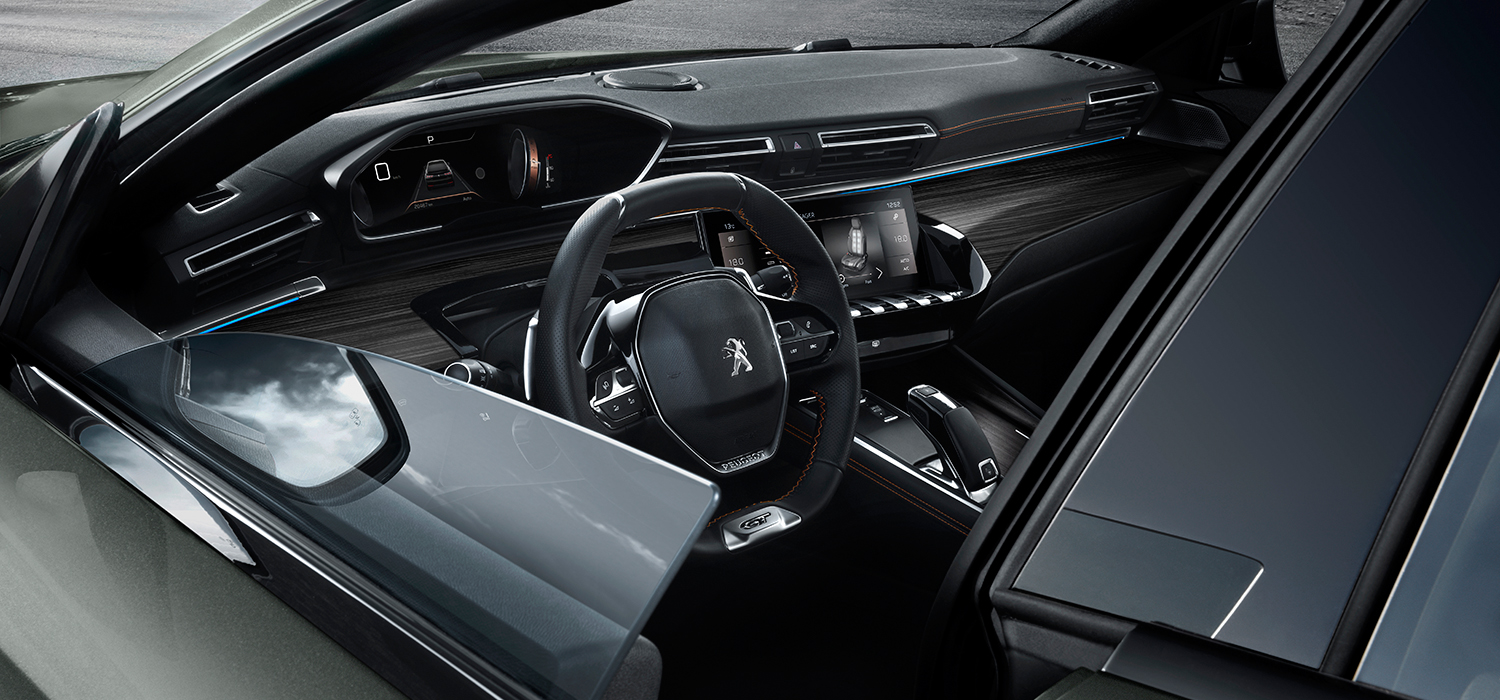 Peugeot 508 SW Dashboard