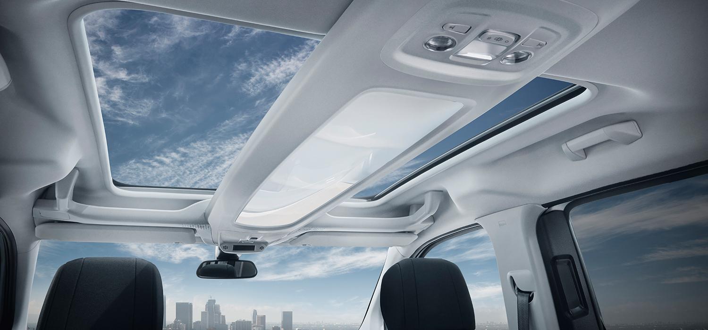 Peugeot rifter panoramadak