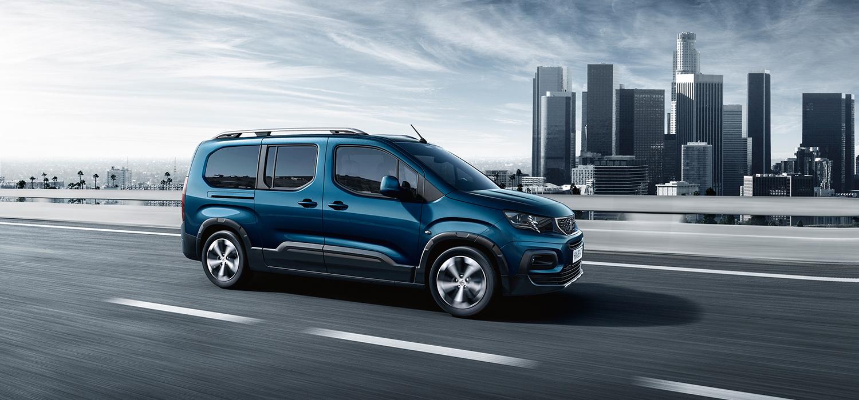 Peugeot rifter zijkant