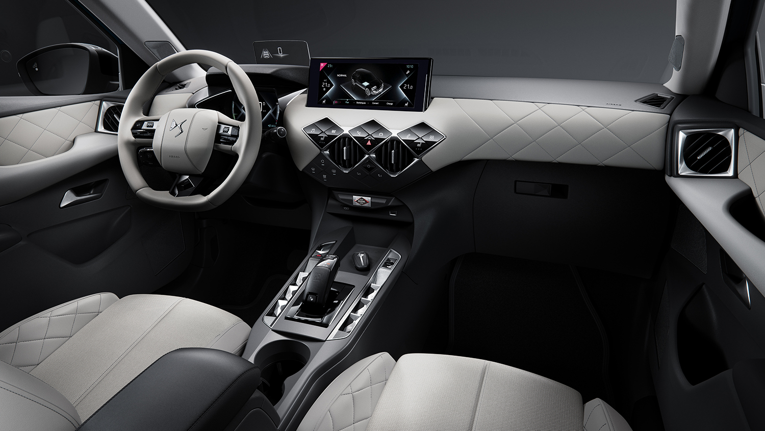 DS3 CROSSBACK E-TENSE dashboard bij Wassink Autogroep