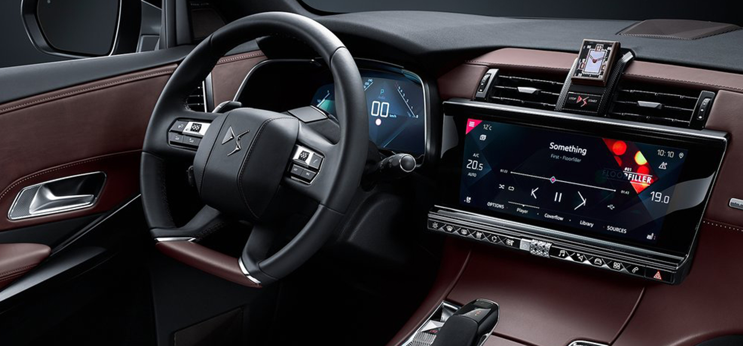 DS7 crossback dashboard