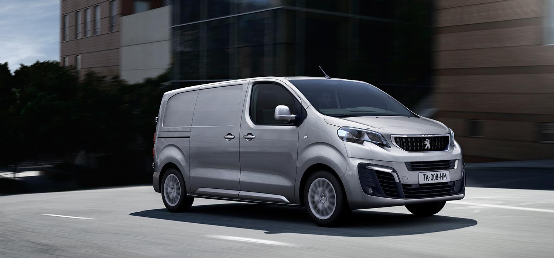 Peugeot expert voorzijde