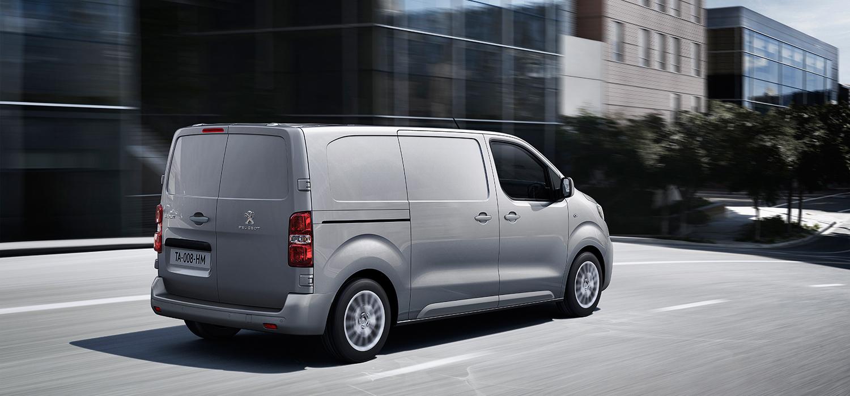 Peugeot Expert achterzijde