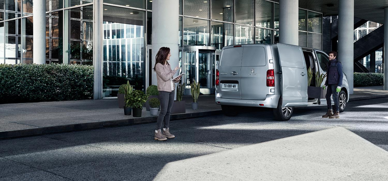 Peugeot Expert laadmogelijkheden