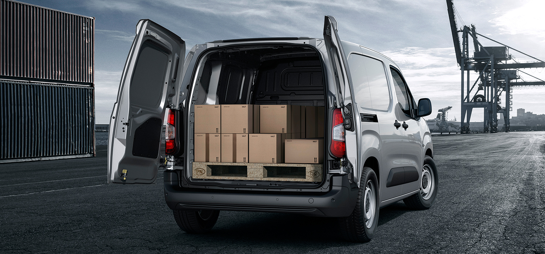 Peugeot Partner laadruimte