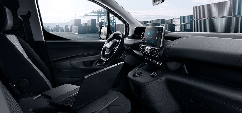 Peugeot Partner ruim interieur