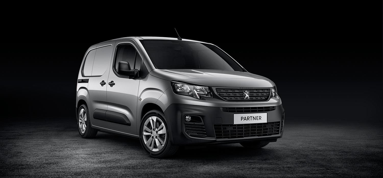 Peugeot Partner voorzijde