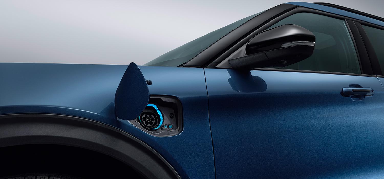 Ford Explorer Hybrid zijkant