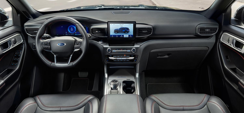 Ford Explorer interieur navigatie