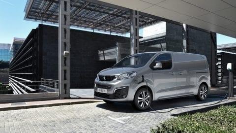Afbeelding voor Volledig elektrische Peugeot e-Expert