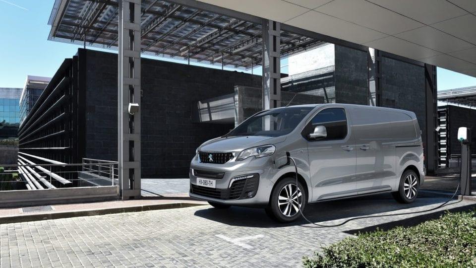 Volledig elektrische Peugeot Expert