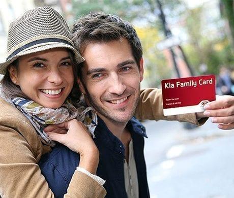 Kia Family Card bij Wassink Autogroep