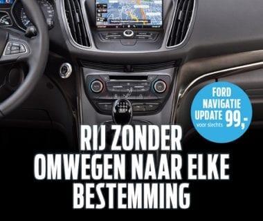 Ford navigatie update vanaf € 99,-.