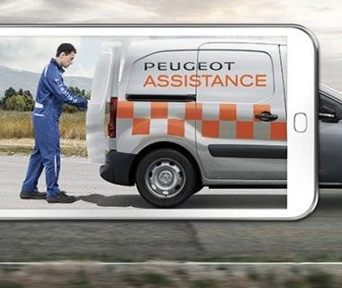 Gratis Peugeot Assistance bij onderhoud
