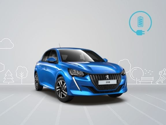 Peugeot e-208 elektrisch