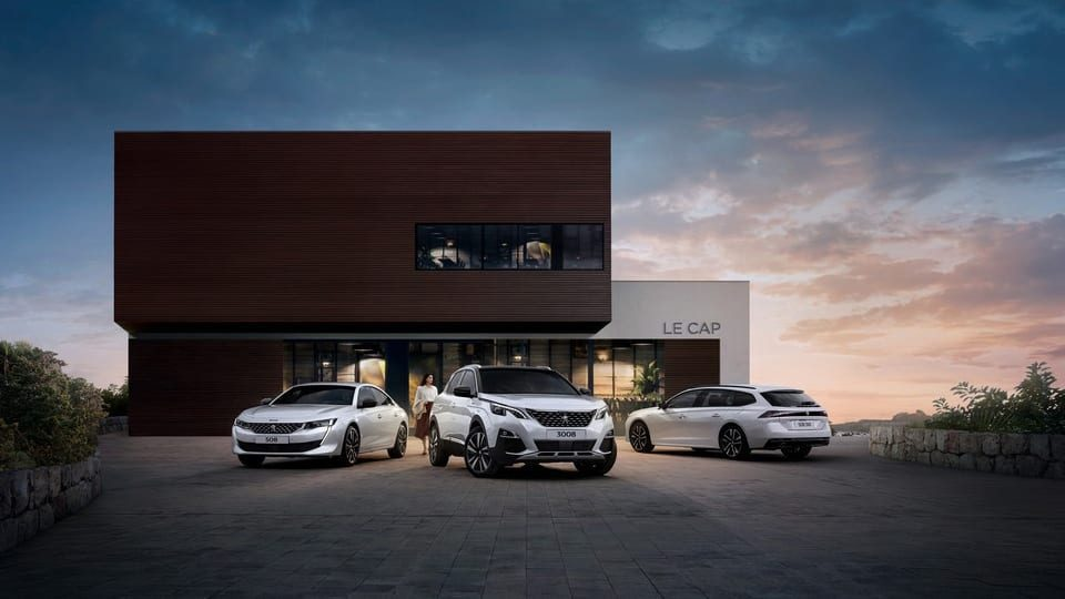 Peugeot hybrid modellen