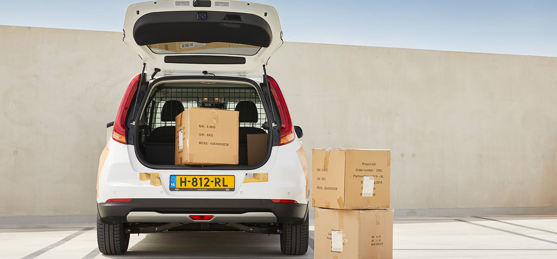 Kia e-Soul Cargo koerier auto